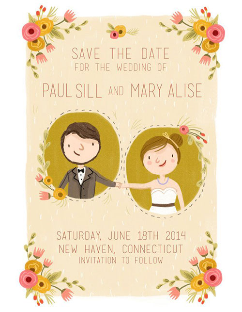 GETTING HITCHED? TAKE INSPIRATION FROM THEST WEDDING INVITES