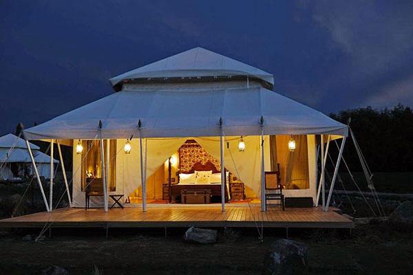 What is a glamping trip ideal for?