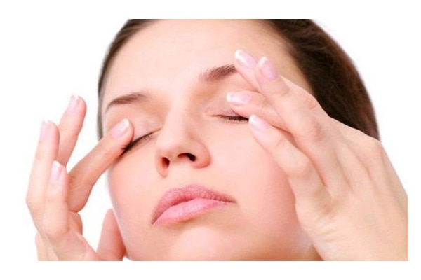 Eyelid massage is beneficial