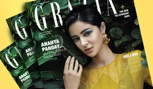 Get the look: Ananya Panday's dewy makeup on the September cover of Grazia