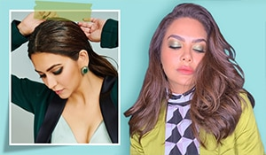 5 celebrity-inspired green eye makeup looks to try this festive season