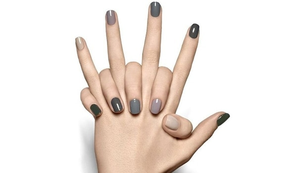 It's such a 'Grey't colour! Fifty shades and more of grey nail polish
