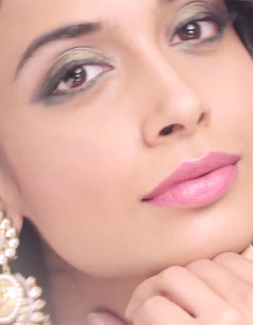 Bridal Make-Up For The Sangeet