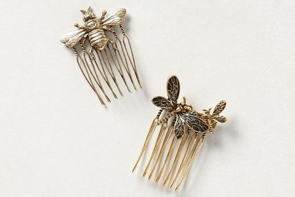 Comb barrettes