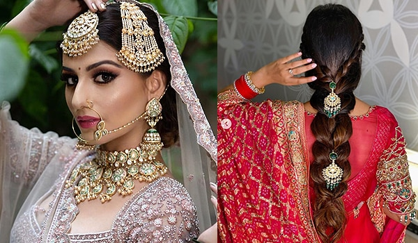 11 Hairstyles For Girls For Their Wedding Day Bebeautiful India