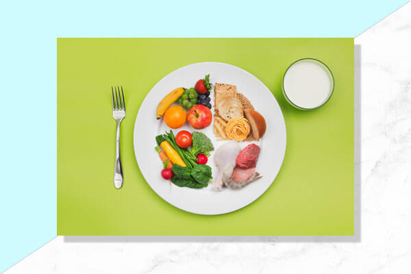 Opt for healthy food choices