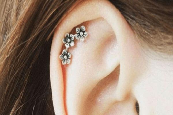 4. Helix Piercing