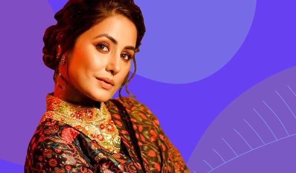 Get The look: Hina Khan's Dreamy Festive Makeup Look