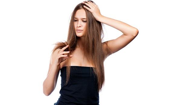 Home-made tips for dry hair