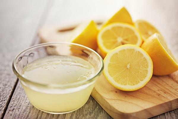 5.Lemon Juice