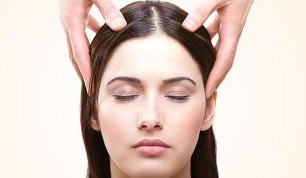 How a scalp massage facilitates hair growth