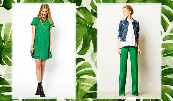 How to add Pantone's 'Greenery' to your closet