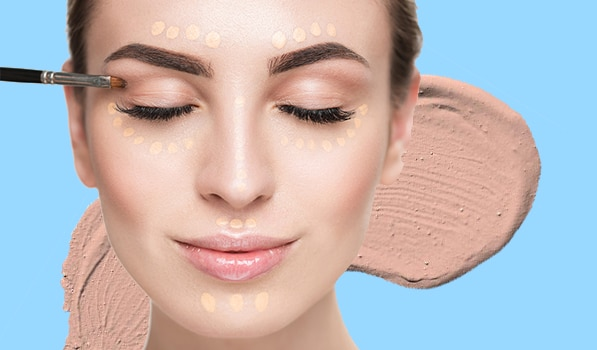 How to apply concealer the correct way for each part of the face