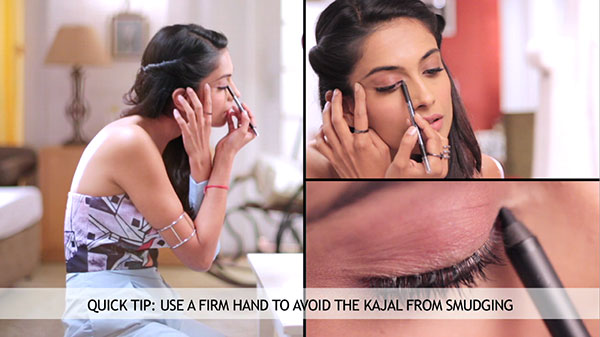 how to apply kajal 600x400