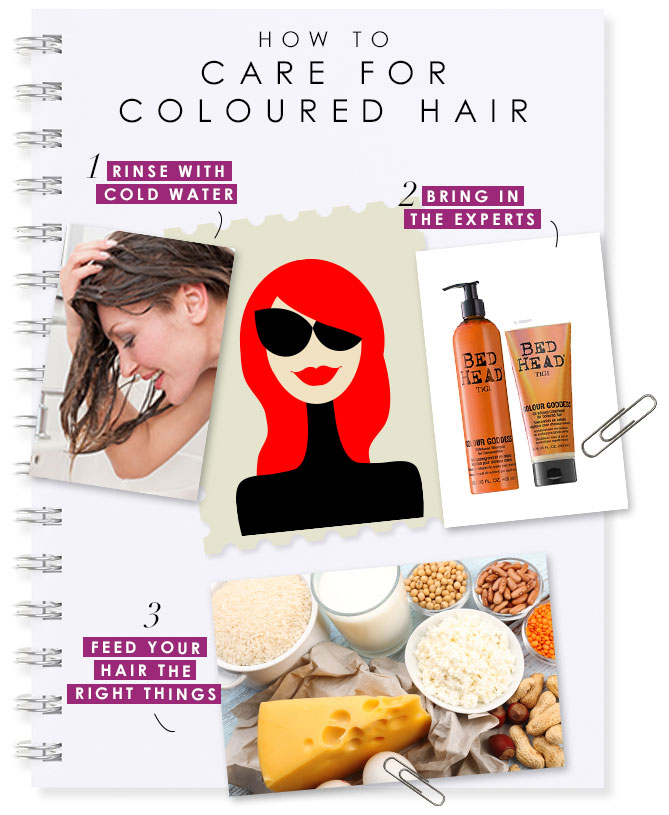 How To Care For Coloured Hair At Home Bebeautiful