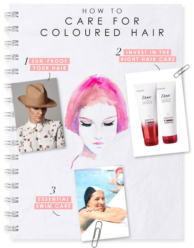 How To Care For Coloured Hair Bebeautiful