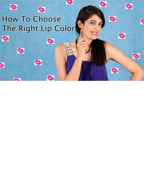 HOW TO CHOOSE THE RIGHT LIP COLOUR