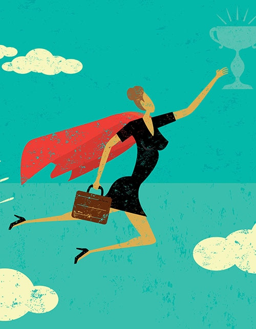 HOW TO CLIMB THE CORPORATE LADDER AND LAND A BIG PROMOTION
