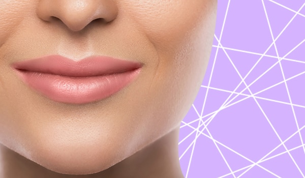 How to hide mouth wrinkles using concealer