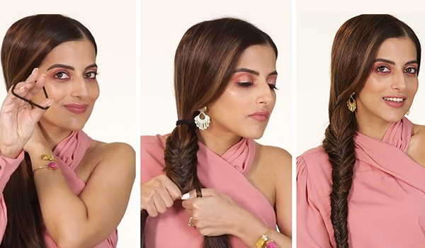 How to get the classic fishtail braid right