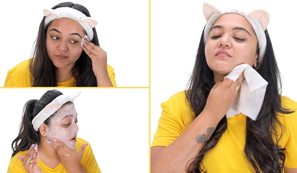 No salon, no problem! Here's how to do a face clean-up at home