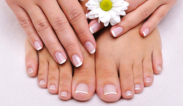 How to do a manicure and pedicure at home