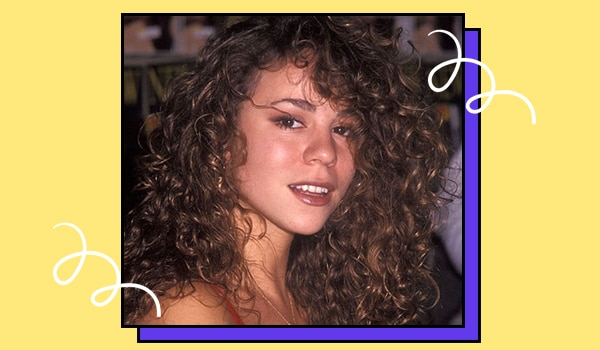 How to recreate Mariah Carey's signature ringlets from the 90s