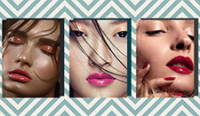 How to get runway-ready glossy lids in 3 ways