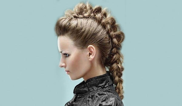 How to make a mohawk braid