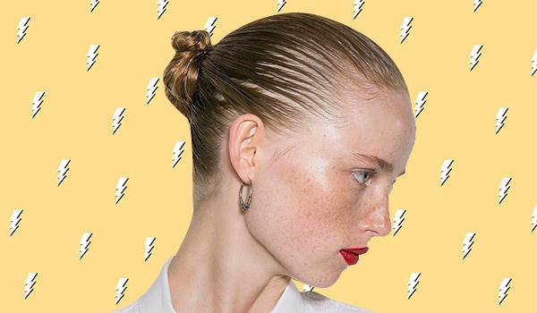 Ways to style wet hair when you are in a hurry