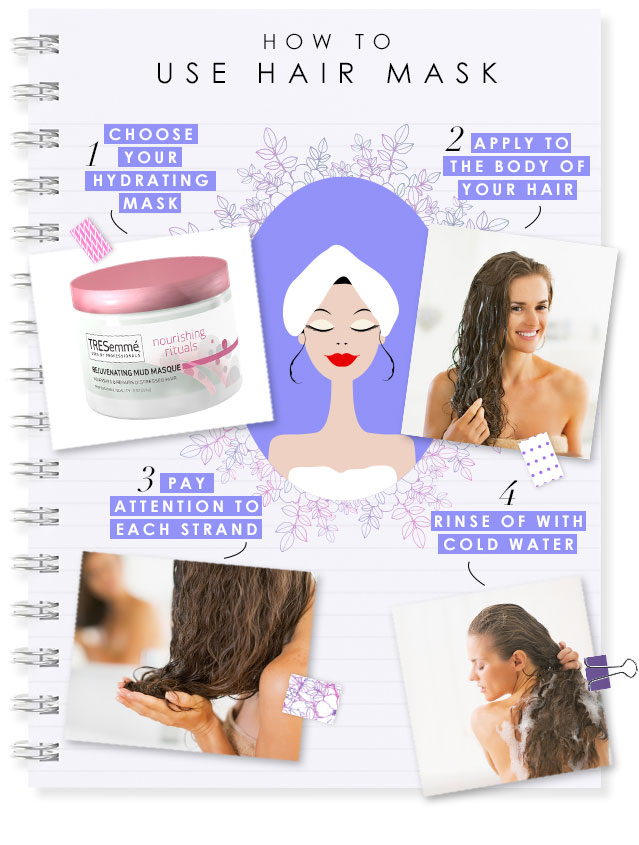 how to use hair mask