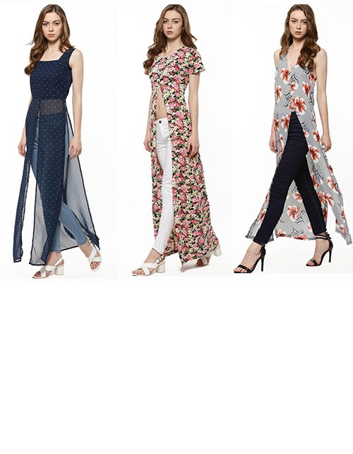 Going great lengths – here's how to wear elongated maxis with voluminous trousers