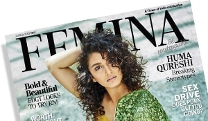 Contouring and curls: lessons from Huma Qureshi on the cover of Femina
