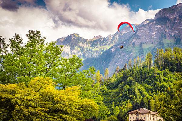 Interlaken, Switzerland – Paragliding