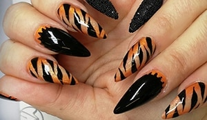 This International Tiger Day embrace your inner tiger with these wild nail art ideas