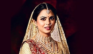 Isha Ambani's wedding brought out some breath-taking makeup looks