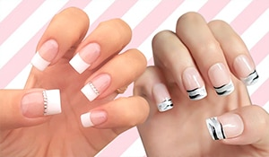 5 ways to jazz up your classic French manicure