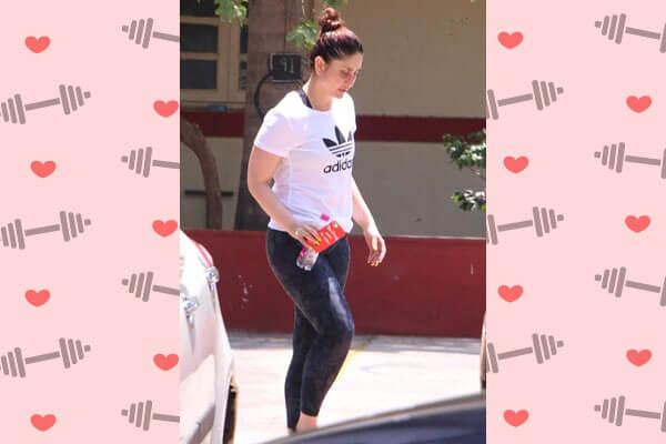 kareena kapoor khan in gym outfit