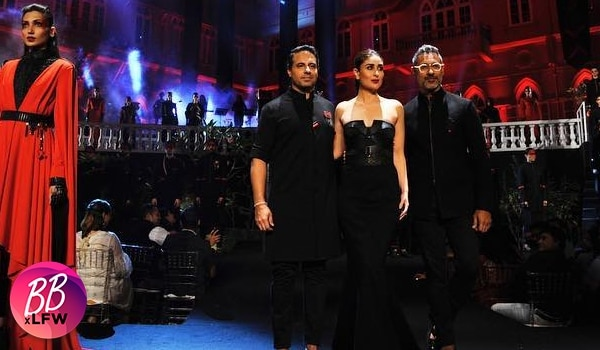 Kareena Kapoor Khan sizzles as the showstopper at the Lakmé Fashion Week S/R '19 finale