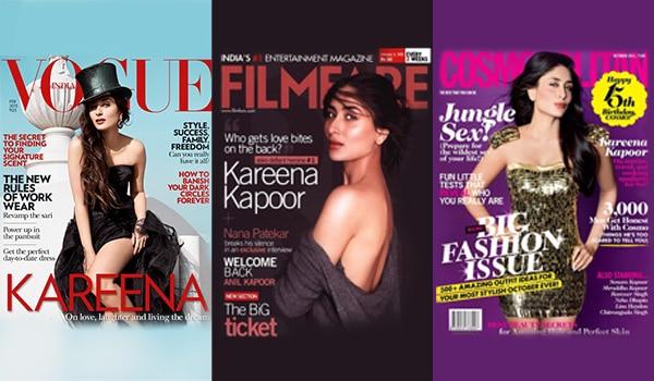 THE BB ROUNDUP OF KAREENA KAPOOR KHAN'S BEST MAGAZINE COVERS