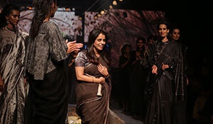 A blur of emotions at Anavila's show at LAKMÉ FASHION WEEK 2017