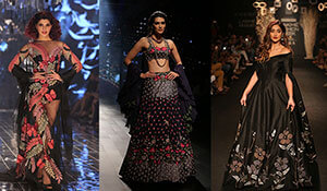 THE BEST CELEBRITY SHOWSTOPPER LOOKS AT LAKMÉ FASHION WEEK W/F 2017