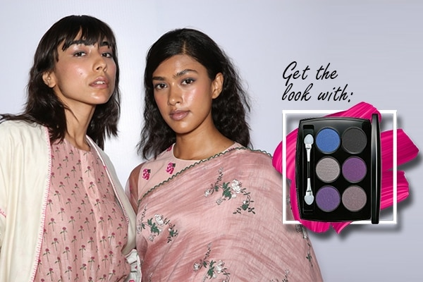 Get the look with: Lakmé Absolute Illuminating Eye Shadow Palette in Silver