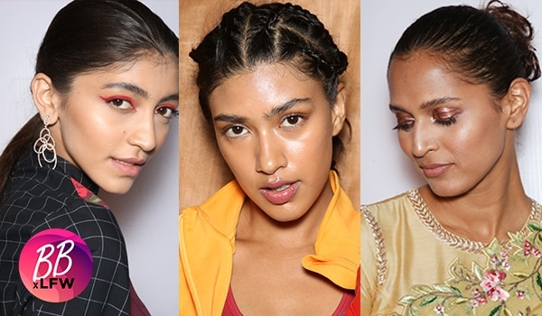 It was all about colourful eyes and glossy skin on Day 04 of Lakmé Fashion Week S/R '19