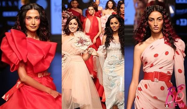 All the drama that unfolded at the Lakmé Salon x Gauri & Nainika show