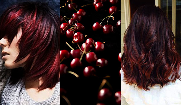 BB Trend Alert—Cherry Bombré Hair Colour