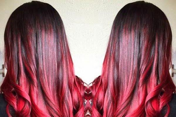Latest Hair Trend Alert Cherry Bombr Hair Colour
