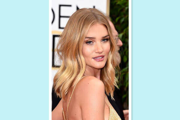 layered long bob hairstyle on red carpet