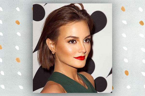 leighton meester in short hairstyle