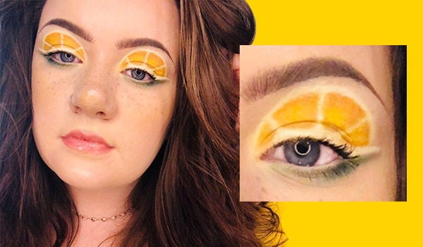 Lemon eyeshadow is the fresh and zesty makeup trend we've been waiting for — here's how to recreate it